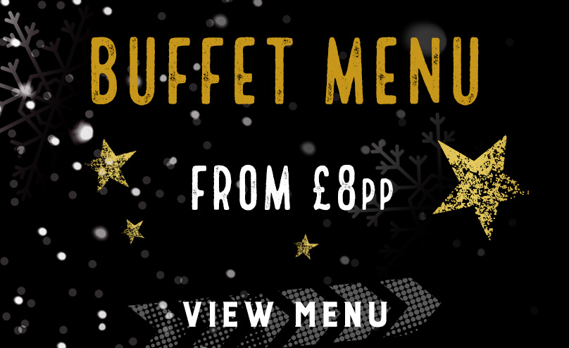 Festive buffet menu at Duke of York