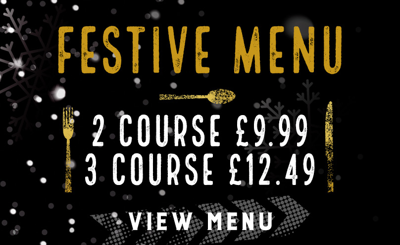 Festive Menu at Duke of York