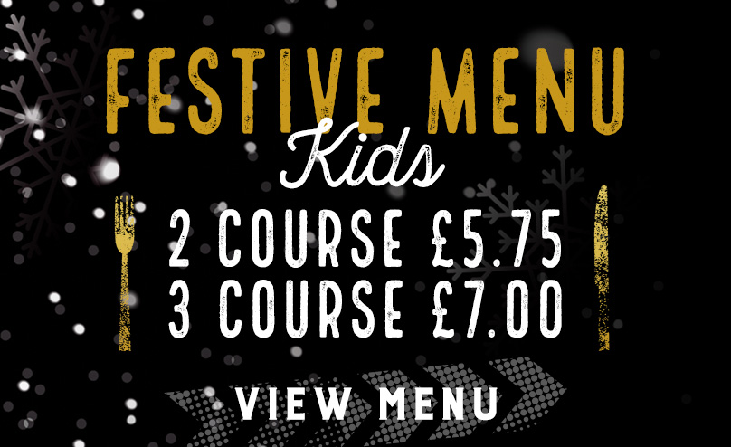 Kids Festive Menu at Duke of York