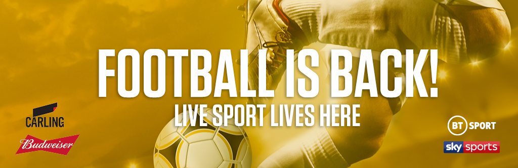 Watch live football at Duke of York