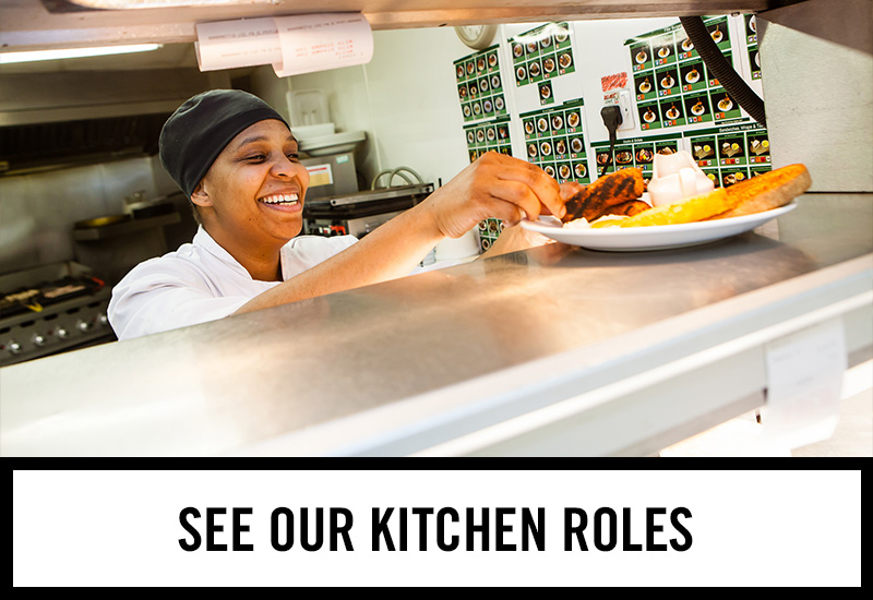 Kitchen roles at Duke of York