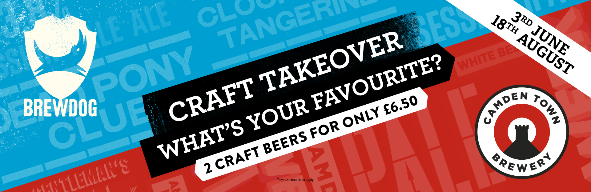 Craft Takeover at Duke of York